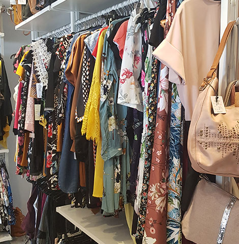 Boutique de vêtements femme et accessoires de mode à Tournai